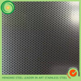 Hoja de metal grabada del SUS 316 decorativa para el acero inoxidable