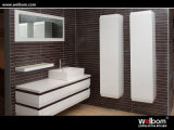 Welbom High Quality White Lacquer Modern Bathroom Vanity Set