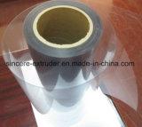 Chaîne de production simple d'extrudeuse d'échappement de vis de feuille d'animal familier avec le séchage de cristallisation