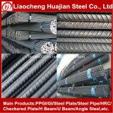 HRB400 Matériau Barre d'armature en acier de 12 m de longueur pour la construction