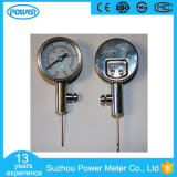 Manómetro de bola de calibre de pressão de bola de metal de alta qualidade de 60mm