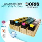 Mx31 Color Copier Toner Mx2600n Mx3100n pour Sharp