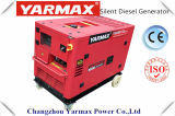 Vente chaude de Yarmax M ! Générateur diesel silencieux 6kVA de début électrique