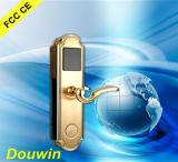 Blocage de porte électronique de clé de carte d'hôtel de haute sécurité