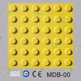 PVCおよびTPUのゴム製建築材料のタクタイルタイル