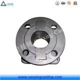 Peça personalizada da válvula do ferro de molde da caixa de engrenagens de Impletter/