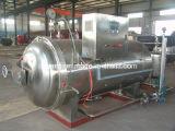 Pote de esterilización horizontal automático