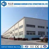 Almacén modular galvanizado de la estructura de acero de la INMERSIÓN caliente de la fuente de China