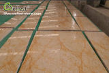 Bela Amarelo / Golden / Beige / Grey Base Golden Emperador Polished Marble Tile para revestimento de piso / parede