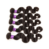 Aliexpress Haar-beste verkaufenprodukt-Jungfrau-brasilianisches Haar-halbe Perücke 3 Bündel freies Beispielrumpf-Wellen-