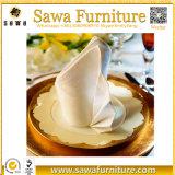 Las servilletas lavables de lino del 100%/las servilletas de lino de la boda se dirigen la materia textil