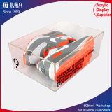 Kundenspezifisches Firmenzeichen-Drucken-Acryl bereift Schaukarton für Bildschirmanzeige