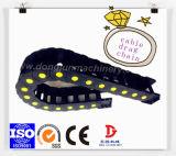 Protección de cables flexibles de plástico de la cadena transportadora de ingeniería