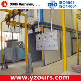 Sistema de revestimento eletrostático em pó com forno industrial