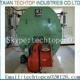 ASME Gaz / Carburant Huile 8 Ton / H Chaudière à vapeur pour applications industrielles