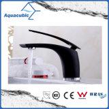 Robinet simple de traitement de bassin en laiton noir de salle de bains (AF2261-6B)
