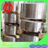 1j6 Fer Aluminium Bande d'alliage magnétique doux Feal6