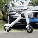 Ecorider pliant le vélo électrique, bicyclette électrique pliable d'alliage d'aluminium d'avions