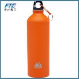L'alluminio su ordine di sublimazione di marchio mette in mostra la bottiglia di acqua