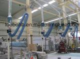 Braccio di aspirazione per l'accumulazione di polvere industriale