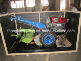 シートとの回転式/Cultivatorの15HP歩くトラクター