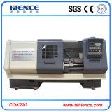 Machine de filetage CNC métallique automatique Cqk220A