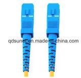 FC/LC/SC/ST monomodo simplex o duplex latiguillo de 5m 15m 20m de la fibra óptica