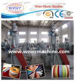 Ligne d'extrusion de bordure foncée de PVC pour la décoration de meubles (Sj-65/25)