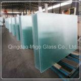 """vetro """"float"""" Tempered libero di sicurezza di 4mm per i progetti di vetro della serra"""