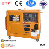 5 квт бесшумный дизельный генератор для использования в домашних условиях