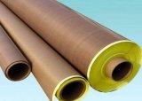 PTFE die Glassfiber Blad, TeflonBlad Glassfiber Zelfklevende Ot steunt Zelfklevend niets