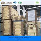 O painel o mais barato do armazenamento frio de quarto frio do plutônio da melhor qualidade 150mm do GV do ISO