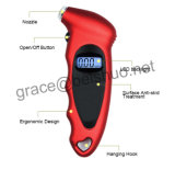 Rétroéclairage portable Digital Tire Pressure Gauge
