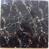 плитки пола фарфора взгляда 600X600mm черные мраморный
