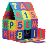 Циновка циновки 36tiles ЕВА головоломки ЕВА письма & номера Anti-Slip