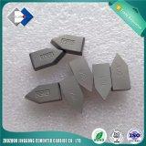 Спеченные напаянные режущие части C110 карбида вольфрама Yg6 для поворачивая инструментов