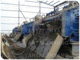 Pedras salientes do ouro/cobre/zinco/ferro que secam a tela, peneirando a máquina