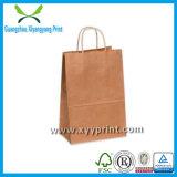 洗濯できるクラフト紙弁袋の卸売機械ハンドルのないプラスチック上塗を施してあるクラフト紙袋
