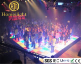 Acrilico bianco RGB 1*1m LED RGB Dance Floor