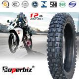 Nouveau OEM 17 pouces 6pr Nylon des pneus diagonaux de la courroie de caoutchouc naturel de la neige de boue du tube de pneus de moto de Pattern vide (3.50-17) (460-17) avec l'ISO