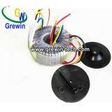 装飾的な光発電機能のための円環形状の変圧器の中の樹脂