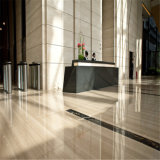 Chine Grès gris marbré carreaux polis pour revêtement de sol et revêtement mural