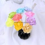 Blanco hecho a mano difusor del aroma de la flor de Sola de madera (SF119)