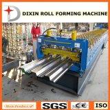 O Decking galvanizado Dixin do assoalho de Cangzhou lamina a formação da máquina