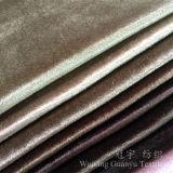 Morbidezza eccellente del velluto del poliestere lucido del tessuto per la decorazione domestica