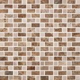 壁の装飾の石の大理石のモザイク・タイル(S755002)