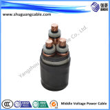 Cavo di Electirc isolato XLPE/PVC
