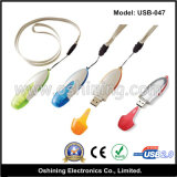 USB Drive di abitudine con Lanyard (USB-047)
