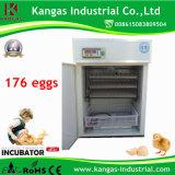 Incubateur automatique de poulet d'oeufs en gros de Digitals 176 (KP-4)