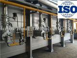 Linha de produção contínua do tratamento térmico do envelhecimento da liga de alumínio de rolo de aquecimento